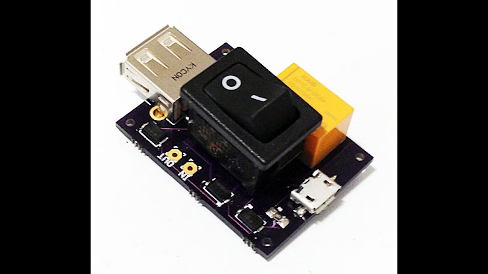 Raspberry Pi Micro Usb On Off Power Switch Circuit By