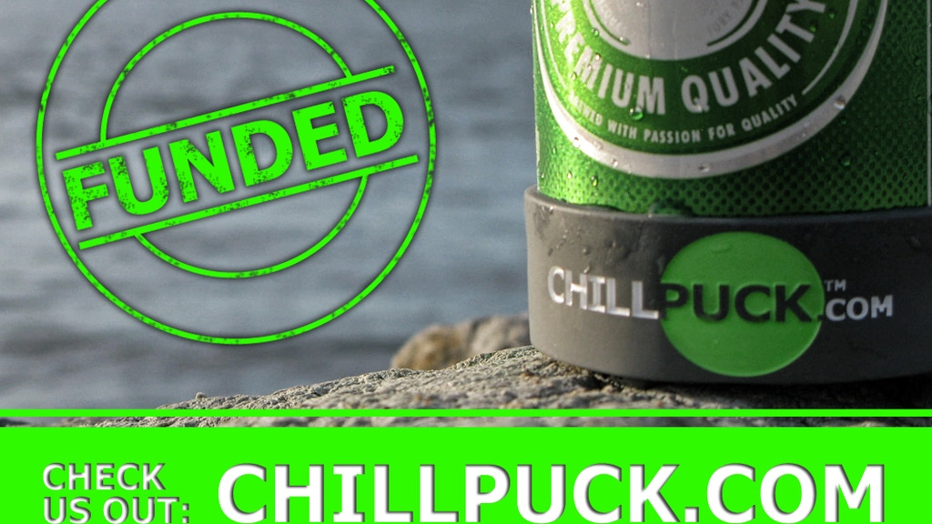 Chill Puck - Keep your beverage colder, longer. project video thumbnail