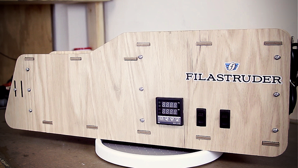 Filastruder: A robust, inexpensive filament extruder. project video thumbnail