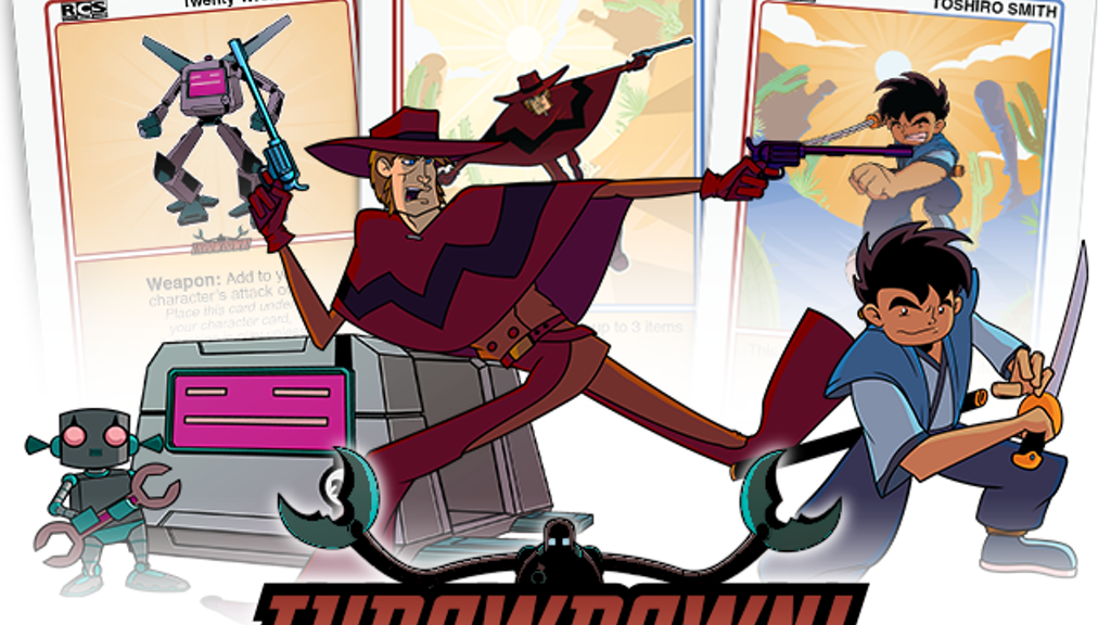 THROWDOWN! Card Game - Robot Cowboy Samurai project video thumbnail