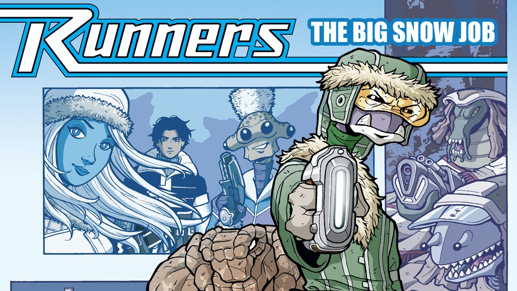 Runners: The Big Snow Job - Graphic Novel project video thumbnail