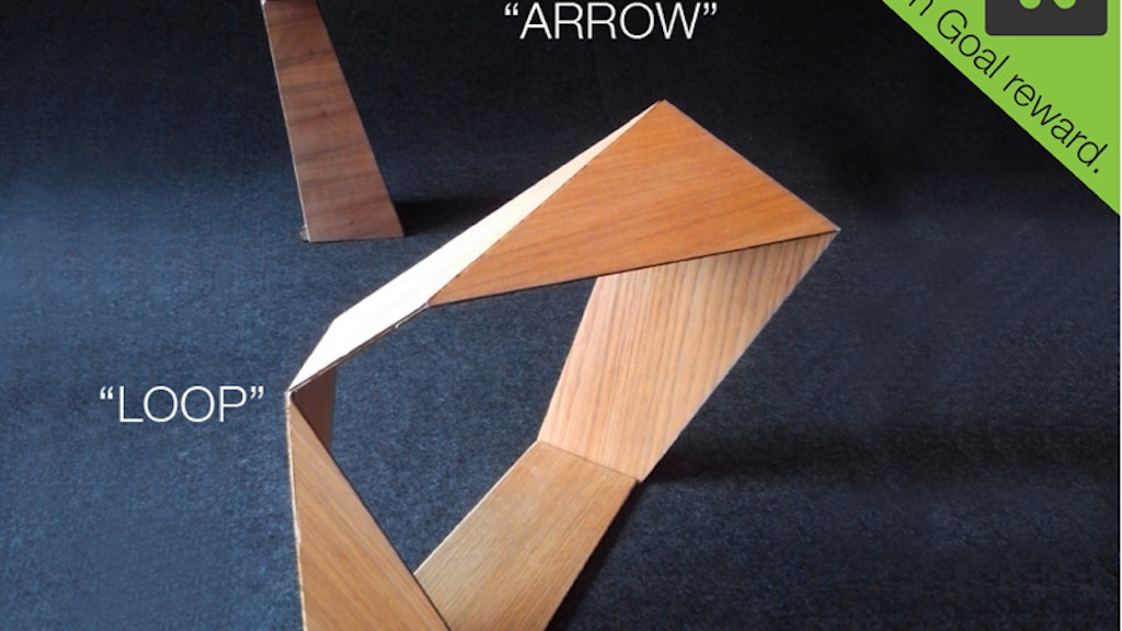 Origami wood lamp series project video thumbnail