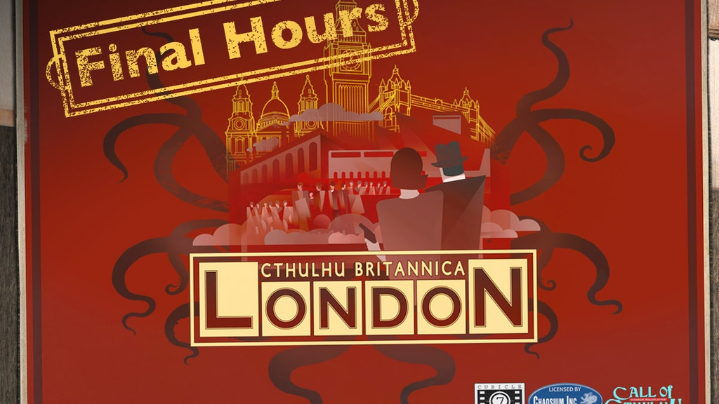 Cthulhu Britannica: London -  Call of Cthulhu RPG boxed set project video thumbnail