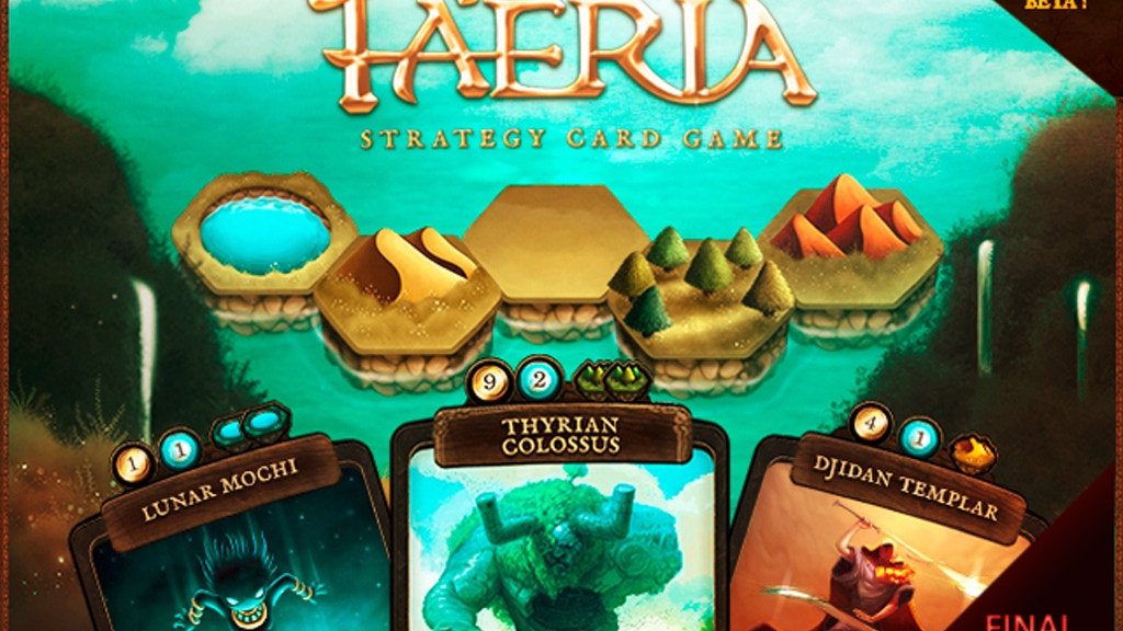 Faëria - Strategy Card Game project video thumbnail