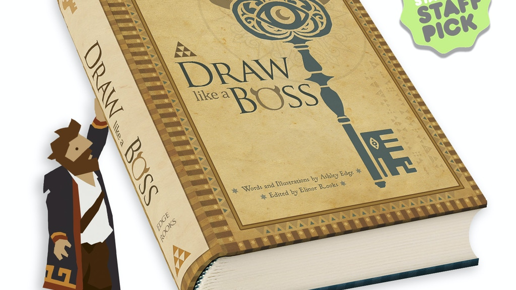 Draw Like a Boss : The Physical Book project video thumbnail