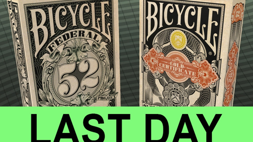 Federal 52 - A NEW Bicycle Playing Card Deck project video thumbnail