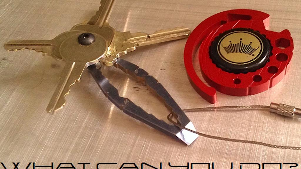 WTF - Mini Titanium Keychain project video thumbnail