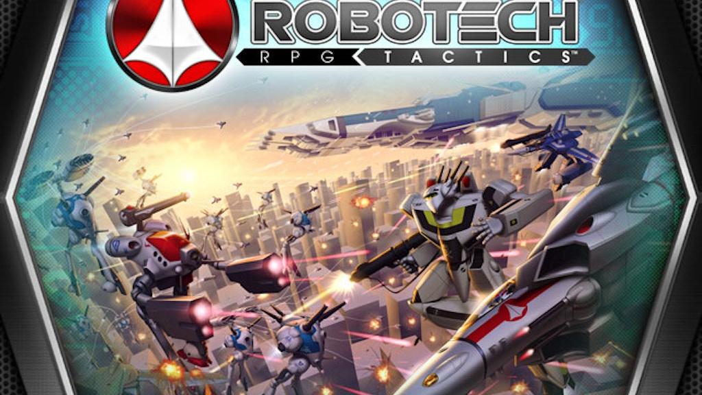 Robotech® RPG Tactics™ project video thumbnail