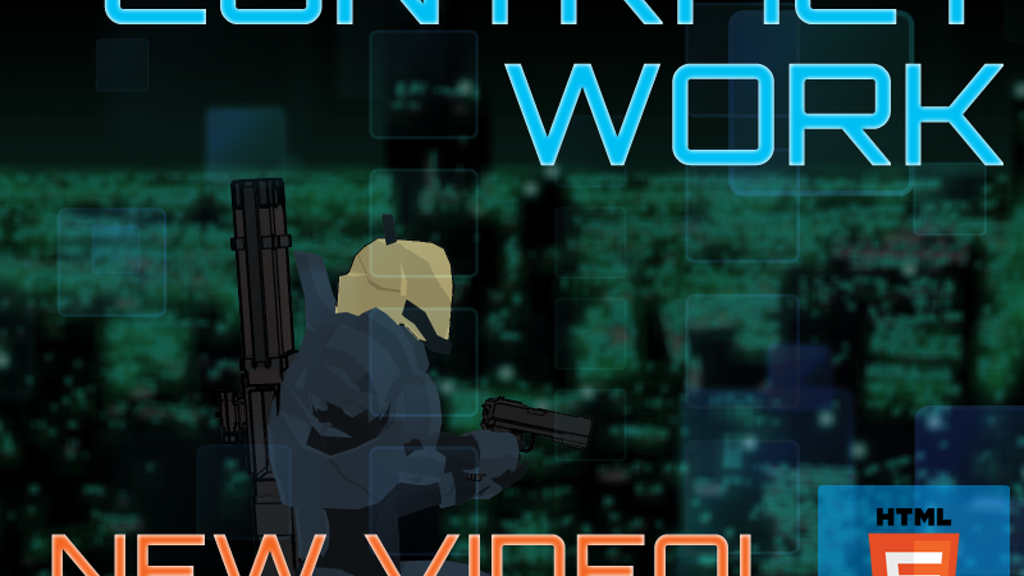 Contract Work: a cyberpunk 2d-shooter rpg project video thumbnail