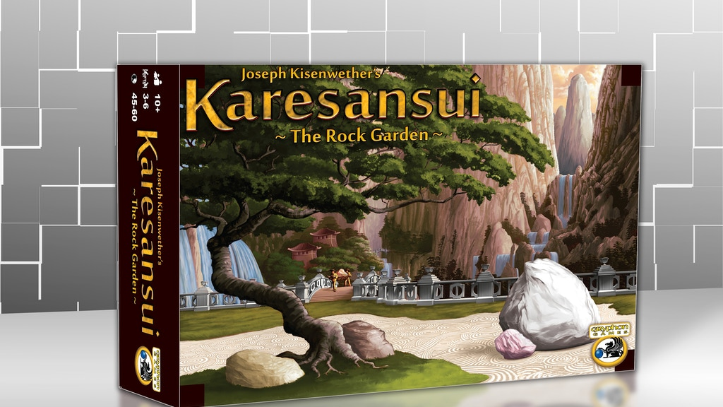 "Karesansui (aka ""Rocks"") -- A Zen Rock Gardening Board Game! project video thumbnail"