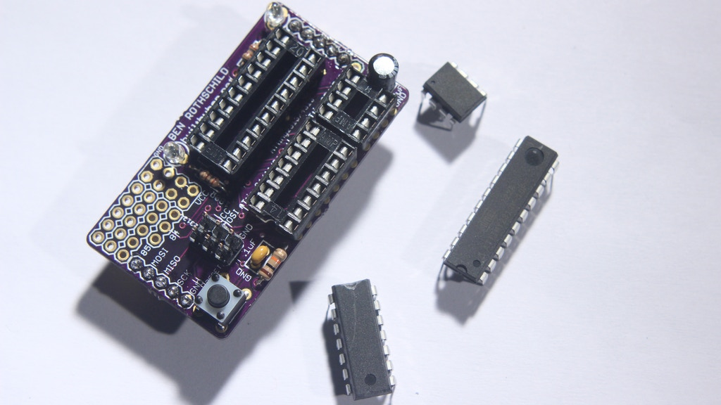 Chipper - The ATtiny Programming and Prototyping Shield project video thumbnail