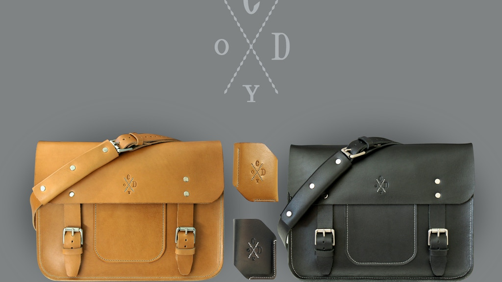 Cody Jepson Slow Made Leather Goods project video thumbnail
