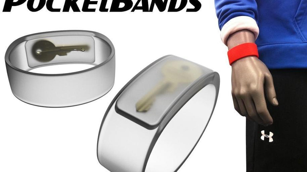 PocketBands™ - The Wristband With a Hidden Pocket. project video thumbnail