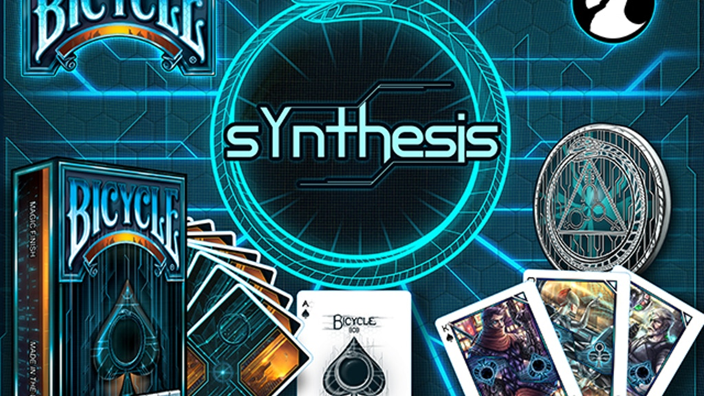 Albino Dragon's Synthesis Cyberpunk Playing Cards project video thumbnail