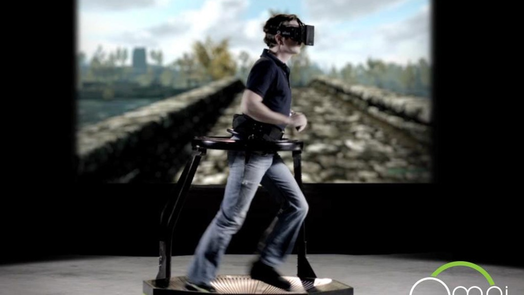 0ce81c0b8da5 Omni  Move Naturally in Your Favorite Game by Virtuix — Kickstarter