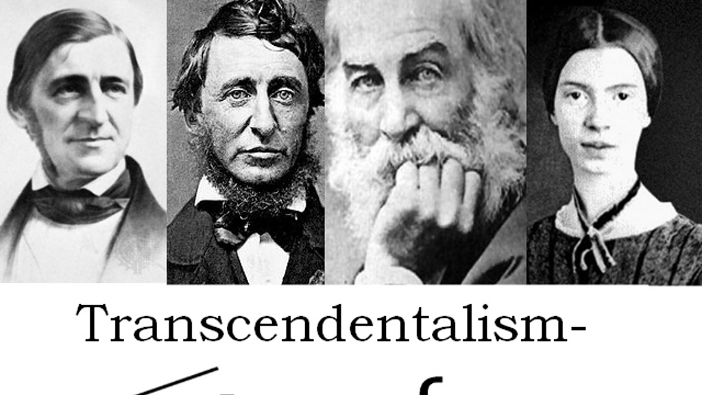 Transcendentalism Interactive project video thumbnail