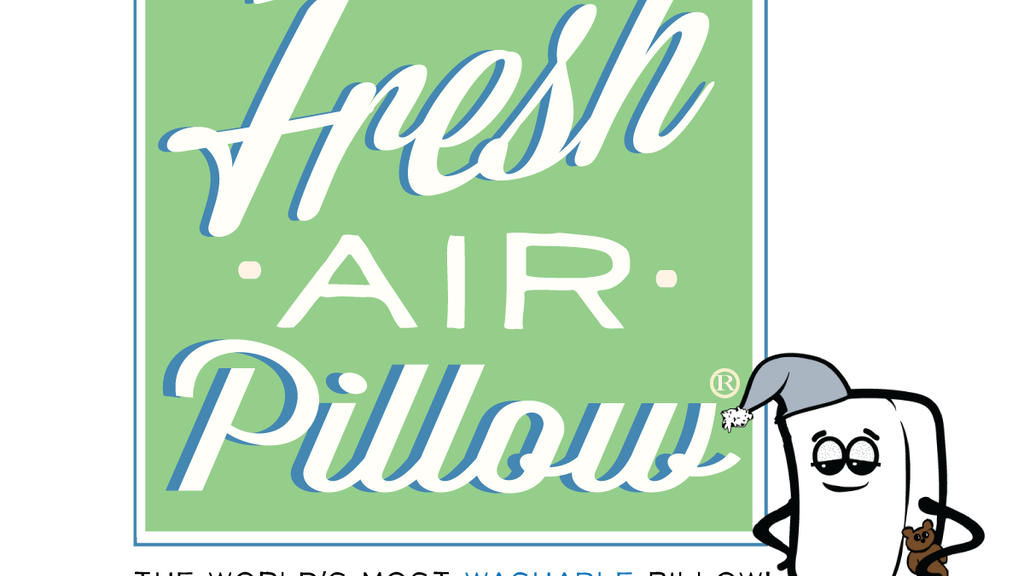 The FRESH AIR PILLOW. The World's Most Washable Pillow project video thumbnail