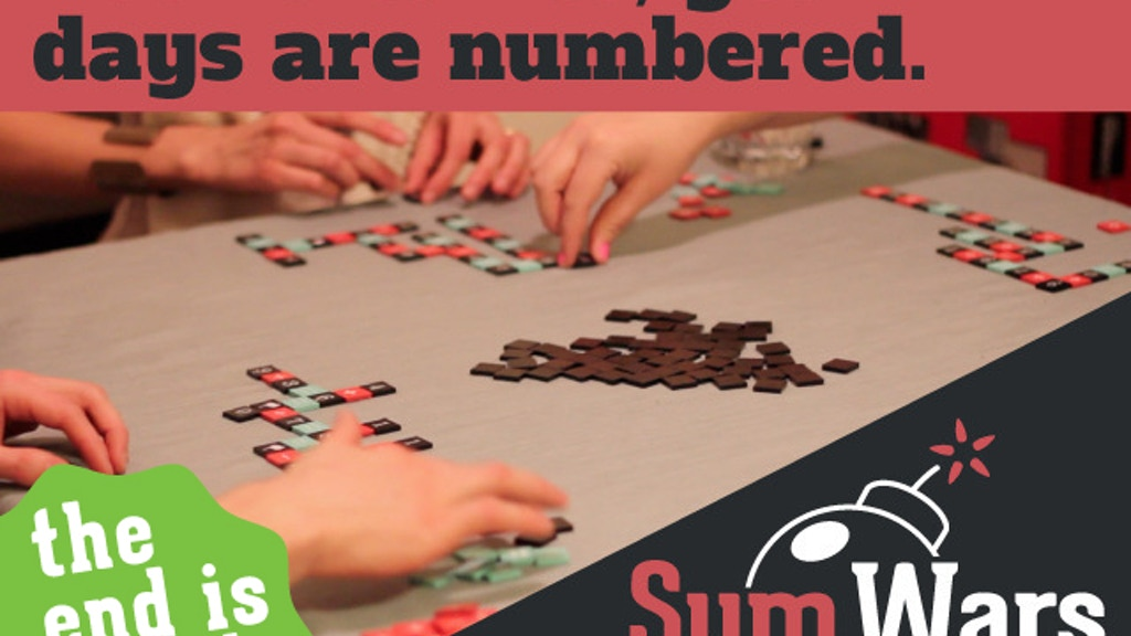 Sum Wars: Number Speed Scrabble w/a Hint of Vengeance! project video thumbnail