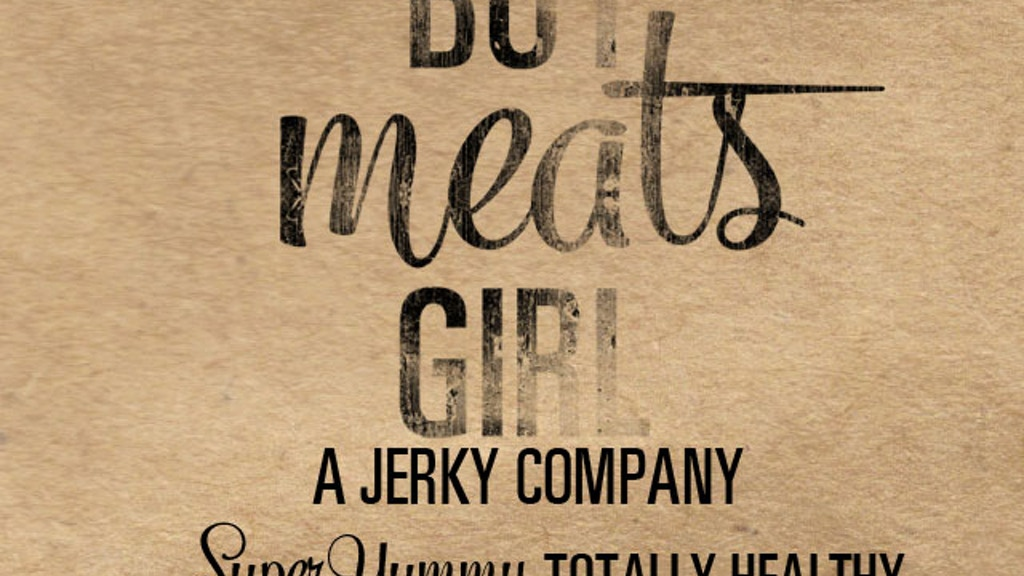 Project image for Boy Meats Girl Jerky Co.