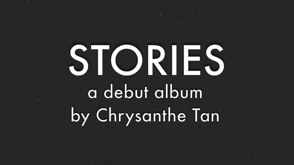 STORIES: a debut album project video thumbnail