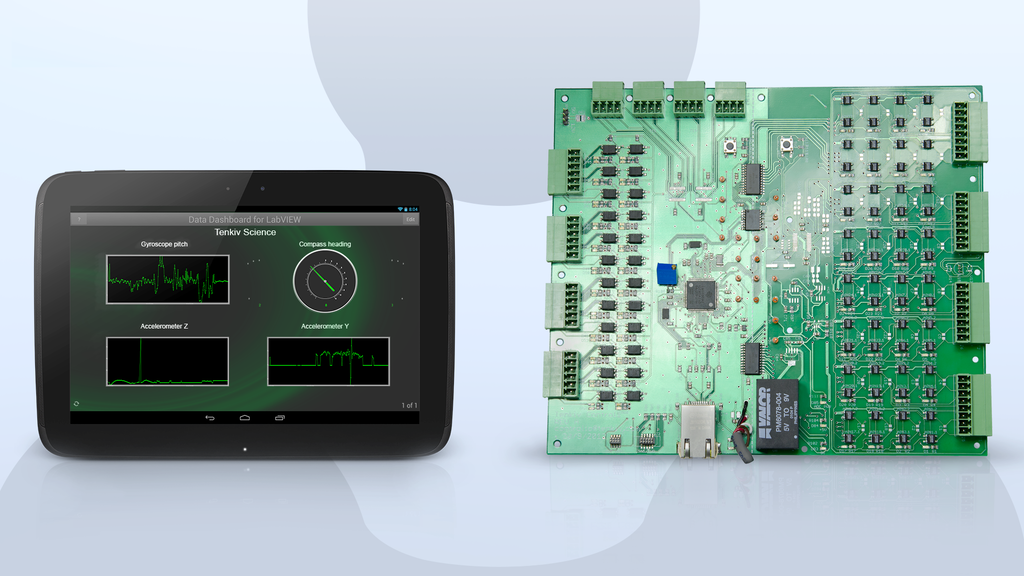 Tekdaqc - robust, precise data acquisition and control. project video thumbnail