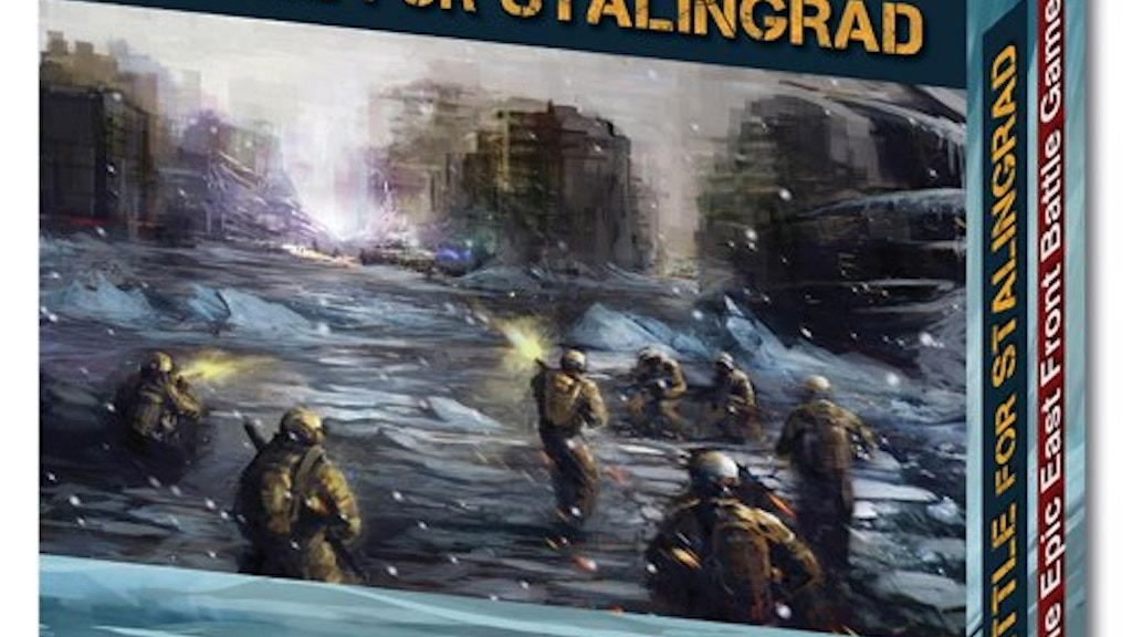 Battle for Stalingrad - intuitive card-based wargaming project video thumbnail