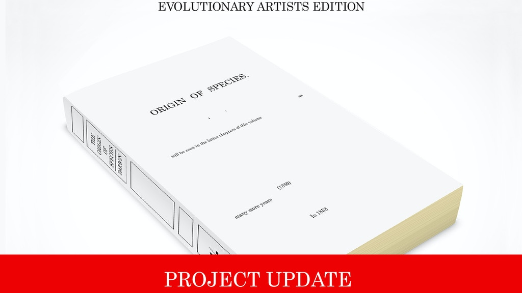 The Origin Of Species, Charles Darwin — Evolutionary Edition project video thumbnail
