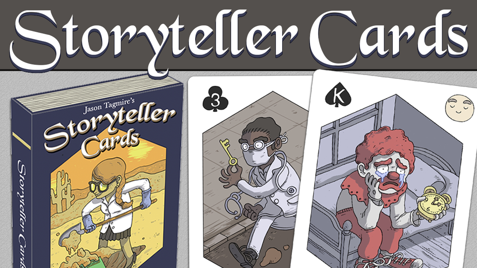 Storyteller Cards: A Playing Card Deck To Inspire Creativity by Jason  Tagmire » A peek into the Storyteller Manual with Tim Rodriguez —  Kickstarter