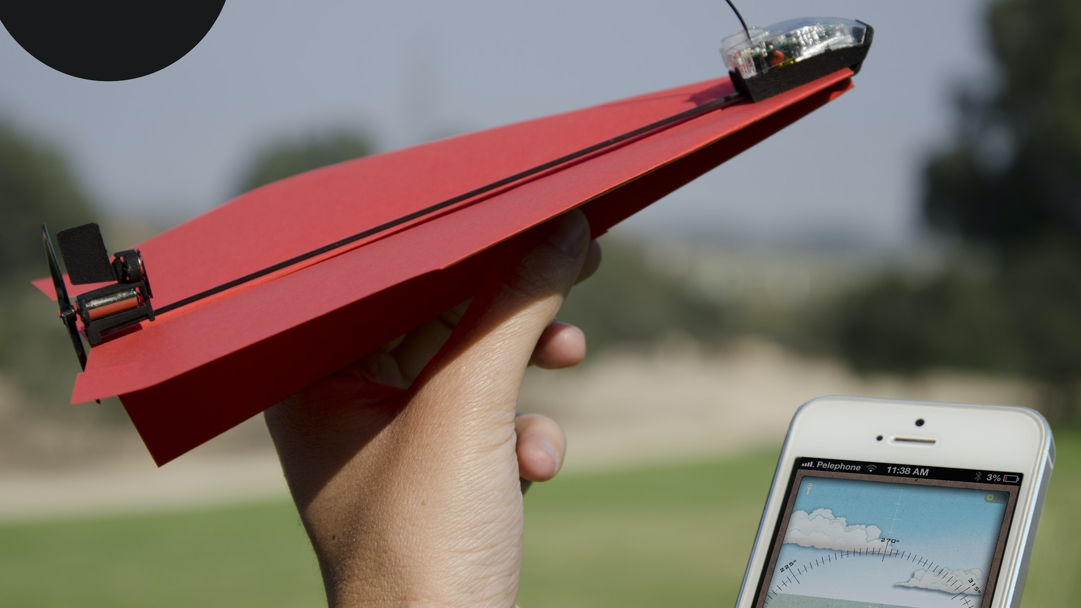Powerup 30 Smartphone Controlled Paper Airplane By Shai Goitein Australia39s 2 Pin Power Cord Plug Saa Two Wire Kickstarter