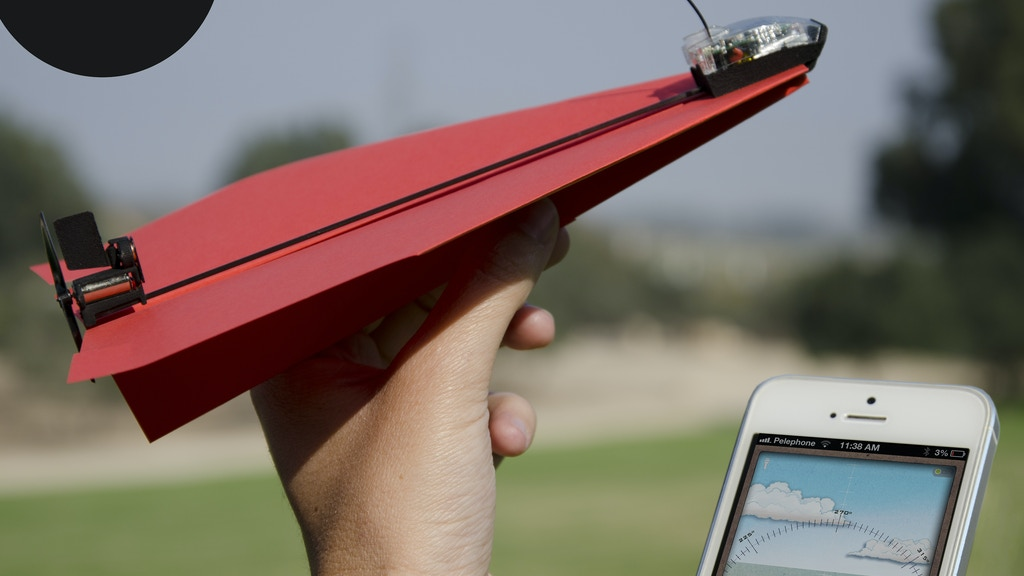 PowerUp 3.0 - Smartphone Controlled Paper Airplane project video thumbnail