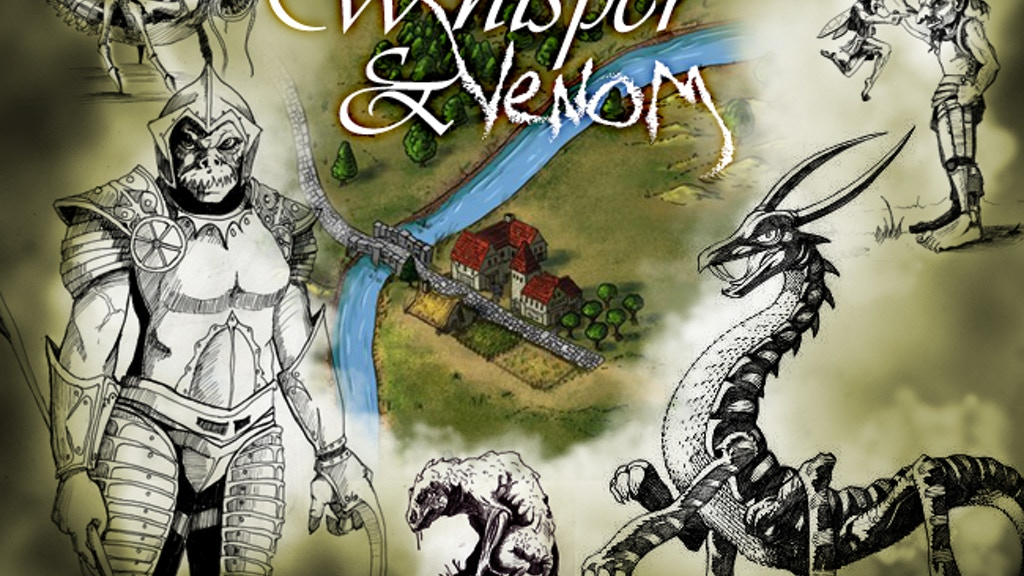 Whisper & Venom: RPG Adventure Boxed Set with 28mm Minis project video thumbnail