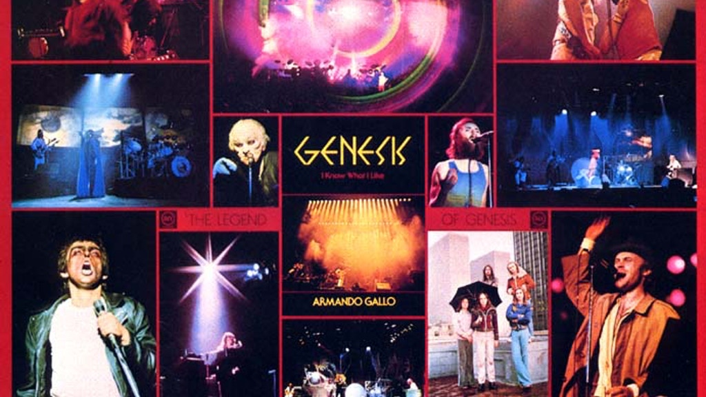 "Genesis - ""I Know What I Like"" Book App by Armando Gallo project video thumbnail"
