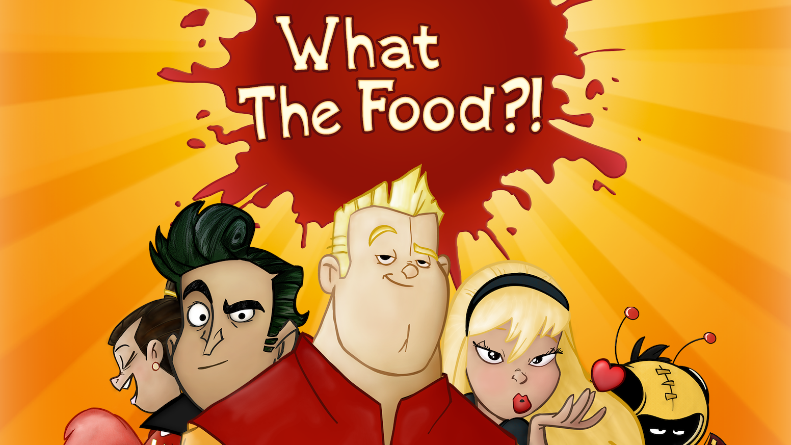 It's a cafeteria food fight to the death! (actually, you'll live but you won't ever forget that beefsteak tomato upside the head...)