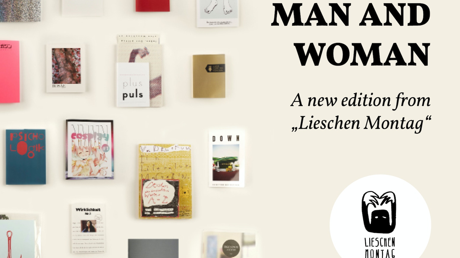man and woman a new edition from lieschen montag by luca feigs kickstarter. Black Bedroom Furniture Sets. Home Design Ideas