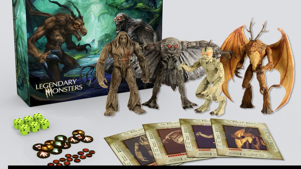 Legendary Monsters project video thumbnail