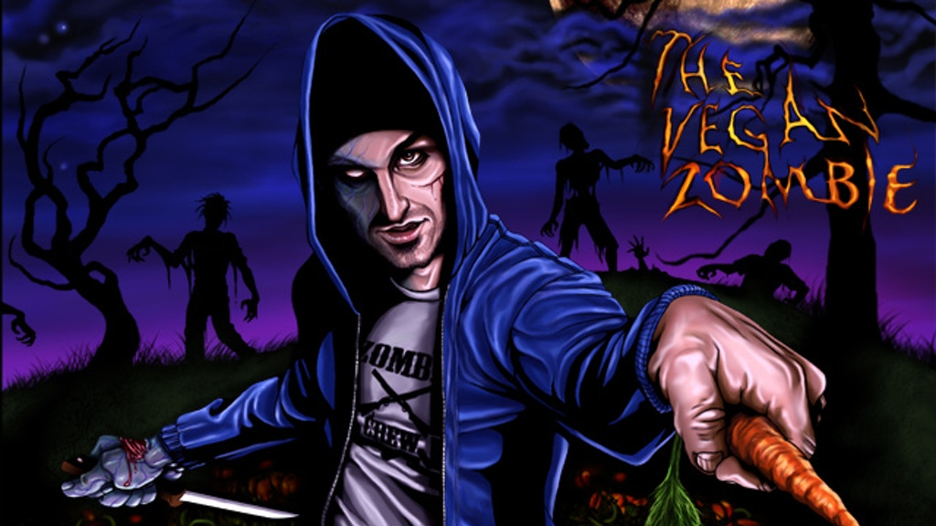 The Vegan Zombie Cookbook project video thumbnail