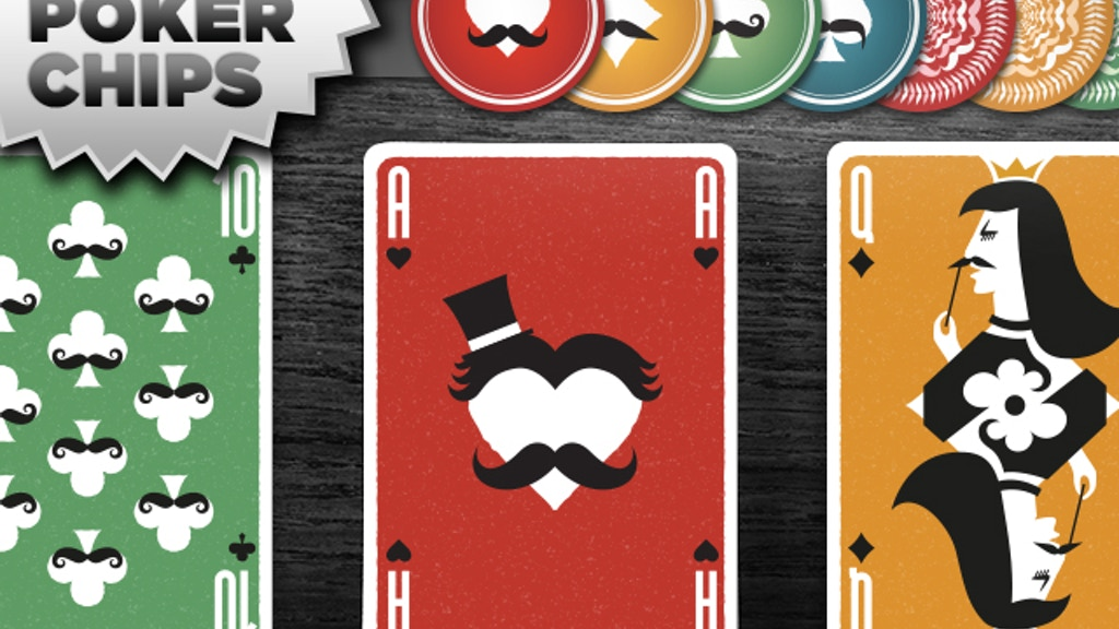 Mustache Playing Cards - a USPC card deck from Vända project video thumbnail