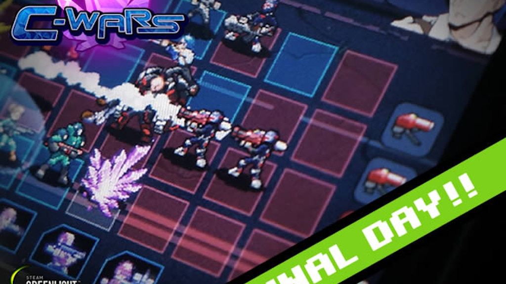 C-Wars: Roguelike Pixel Art PC Game project video thumbnail