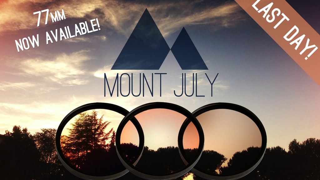 Mount July: Color Splashed Camera Filters project video thumbnail