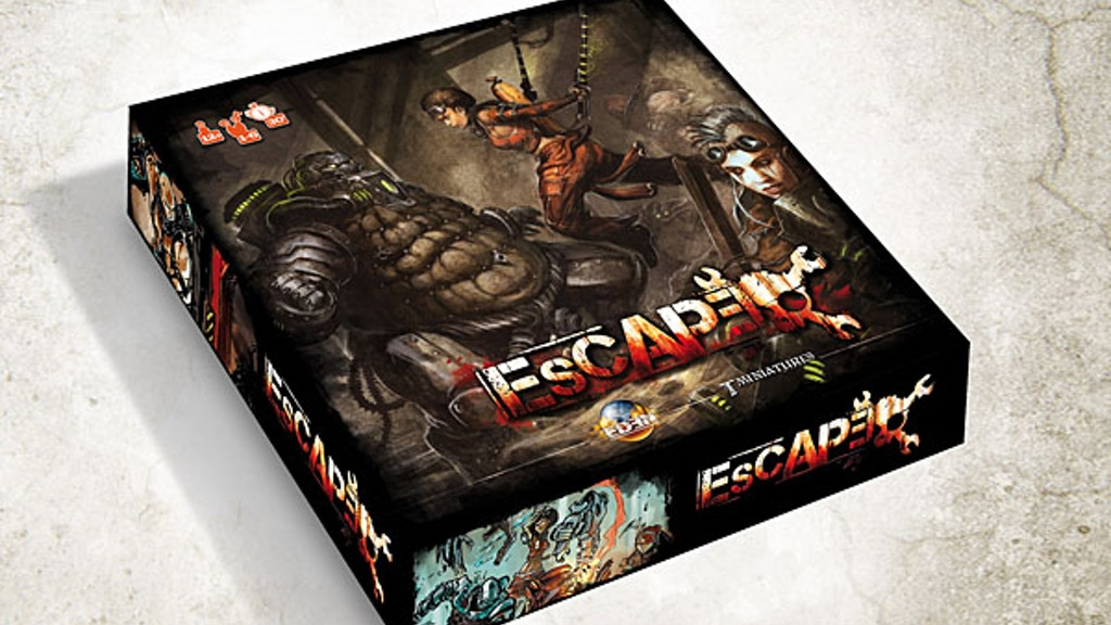 Escape - a boardgame in the EDEN universe project video thumbnail