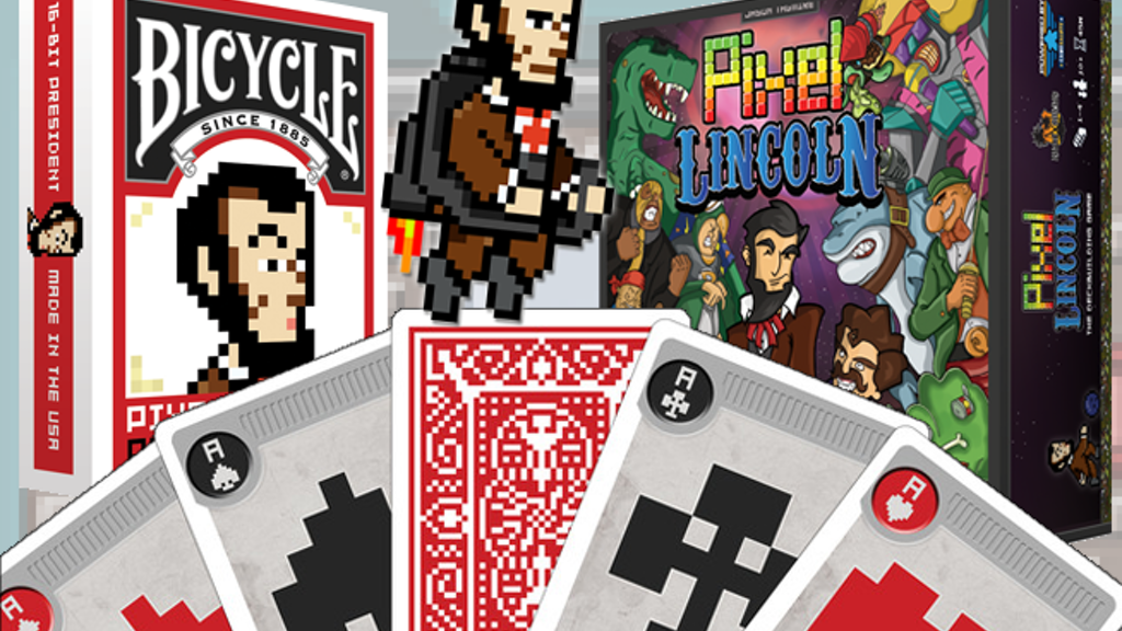 Pixel Lincoln: Bicycle Playing Cards project video thumbnail