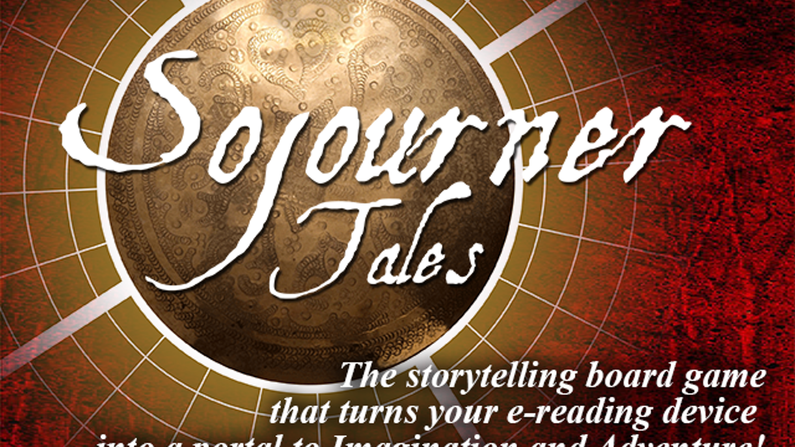 Sojourner Tales is a board game featuring new, downloadable ebook adventure modules that make the experience new every time you play.