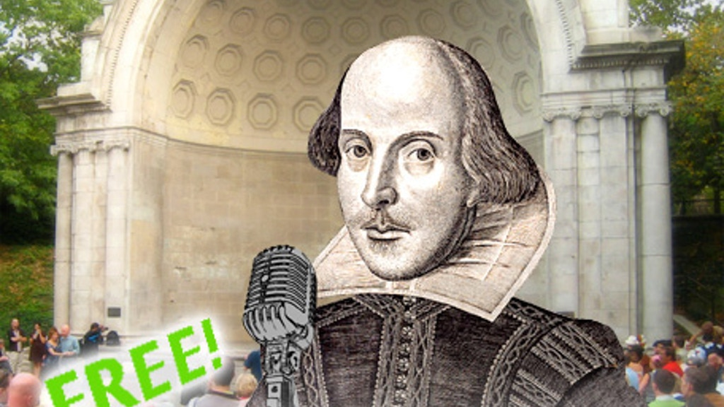 3rd Annual Shakespeare's Birthday Sonnet Slam project video thumbnail
