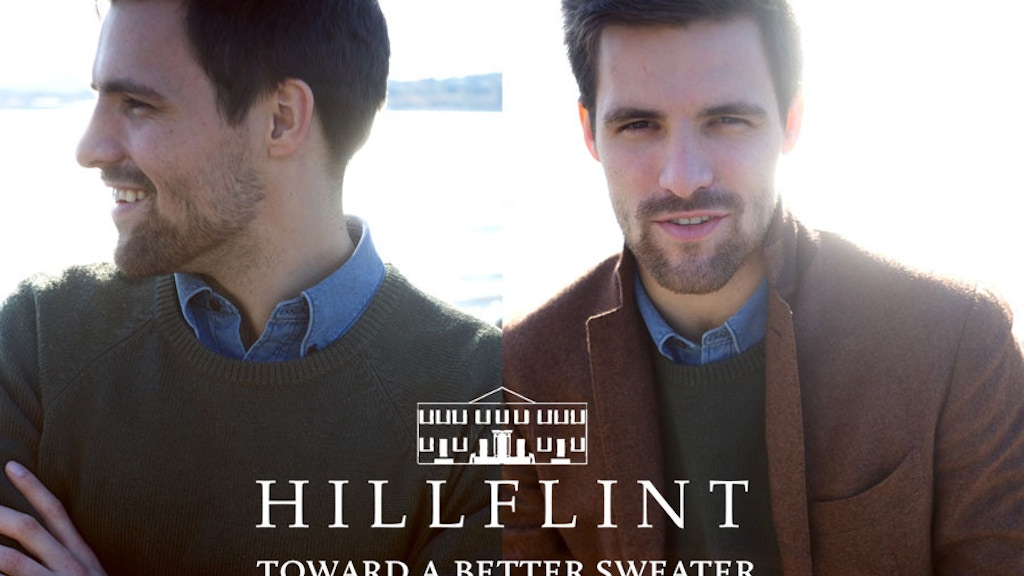HILLFLINT: The Mark One Sweater project video thumbnail