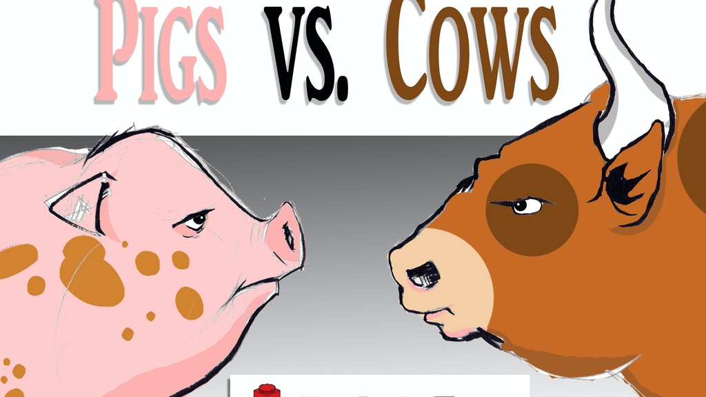 Pigs vs Cows - Custom Accessories for BrickCon 2013 Seattle project video thumbnail