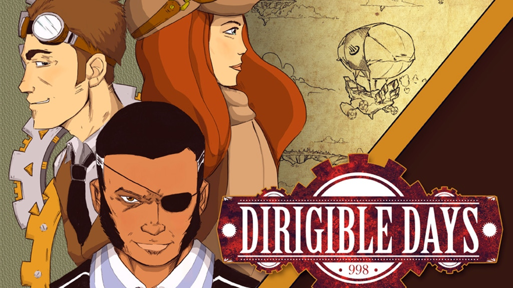 Dirigible Days: 998 -- Steampunk Graphic Novel Comic Book project video thumbnail