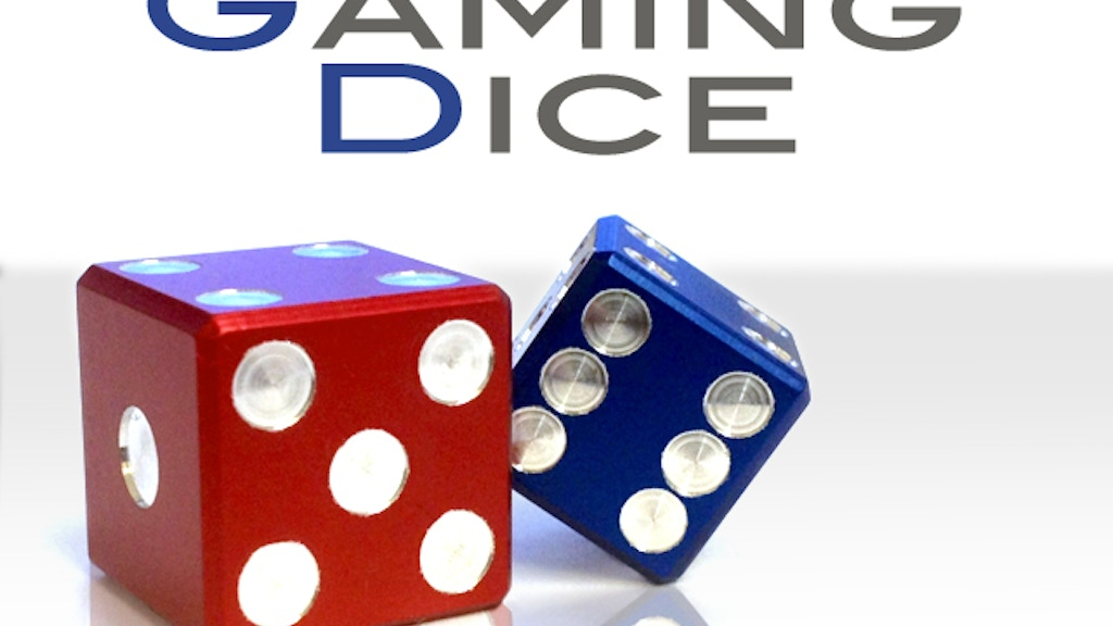 Precision Machined Metal Gaming Dice project video thumbnail