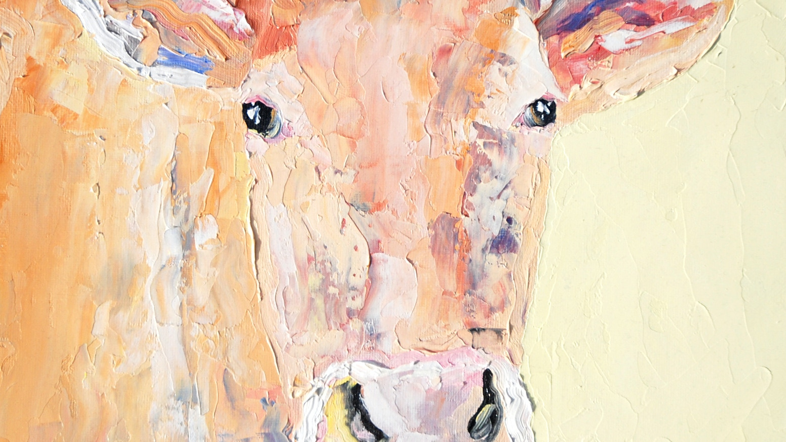 An Exhibition of Cows in Oil by Sally Fisher — Kickstarter