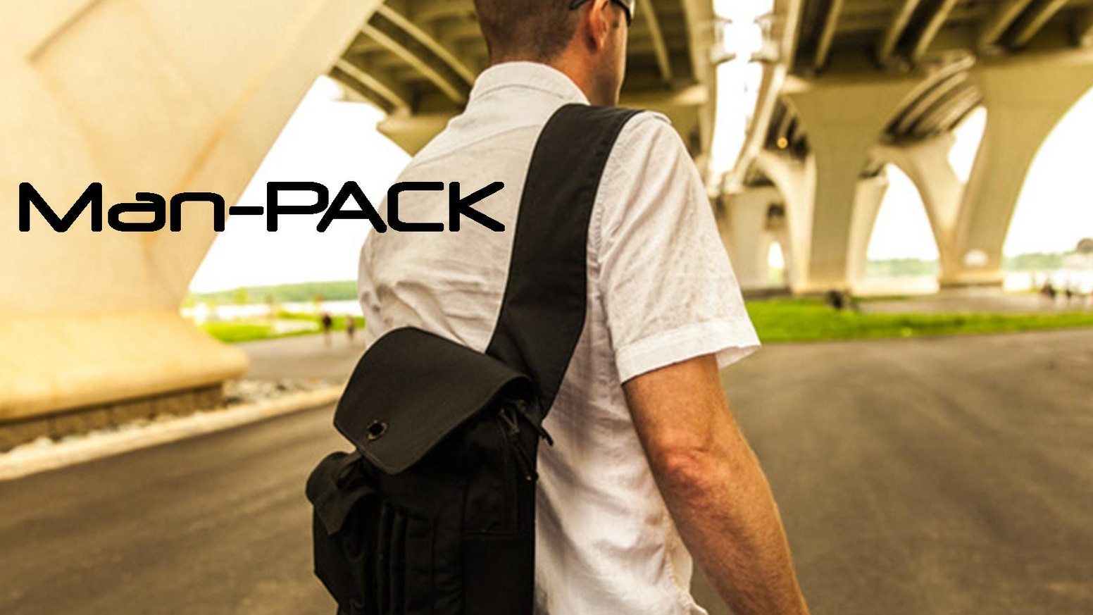 Check out the Man-PACK! This vertical sling style messenger bag is durable, stylish,and utilitarian. Get your Man-PACK on!