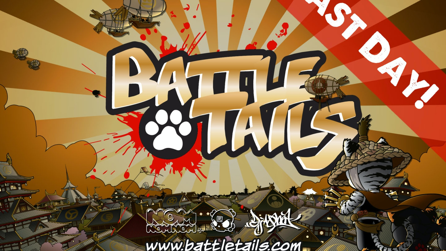Battle Tails is a live action strategic defense game for Android and iOS that brings Huck Gee's Gold Life character designs to life!